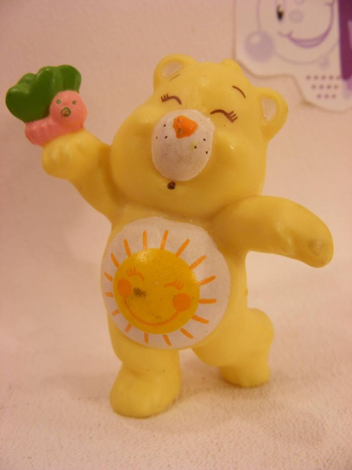 VINTAGE FUNSHINE CARE BEARS MINIATURE